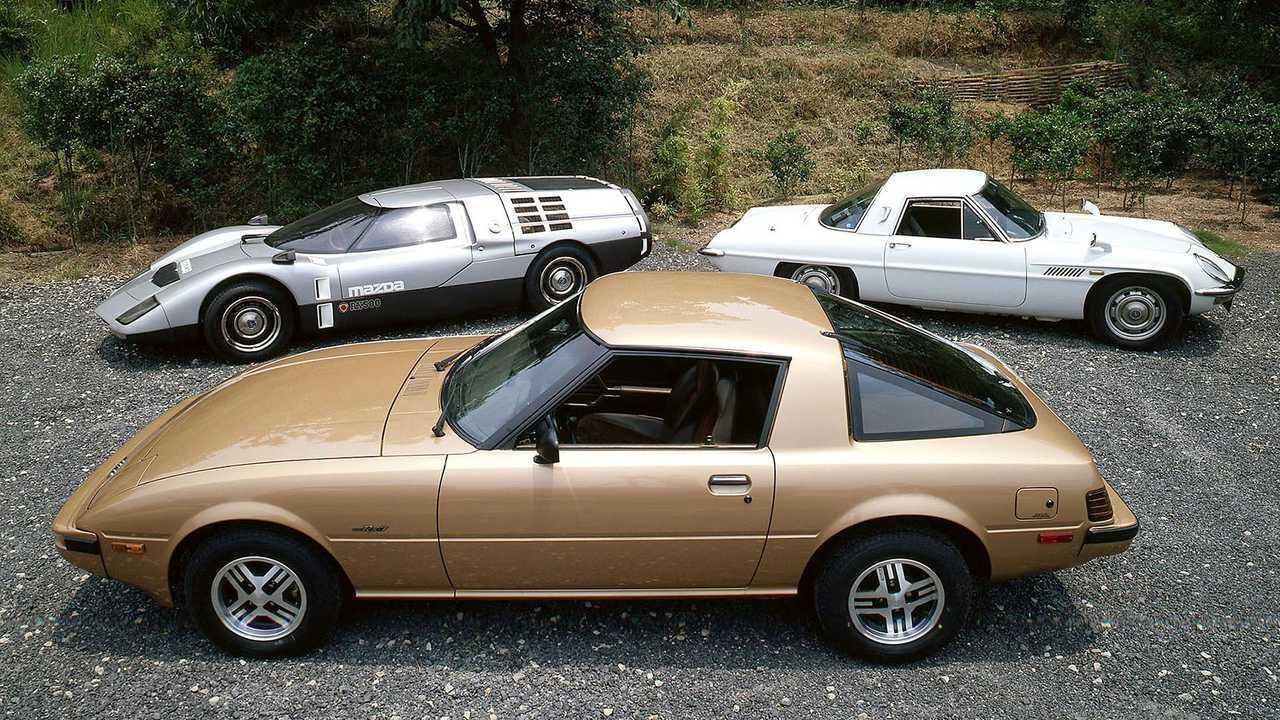 Los 10 Mazda más importantes con motor rotativo