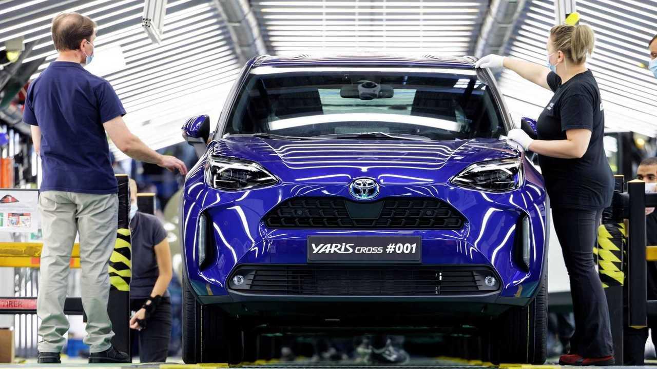 Toyota Yaris Cross - produção