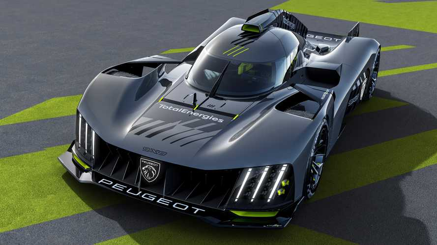 Peugeot reveals first images of radical 9X8 Le Mans Hypercar