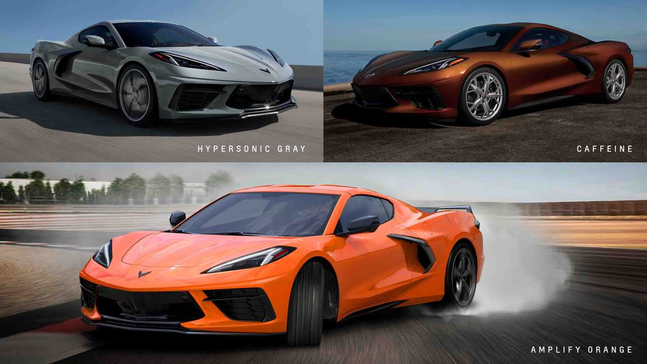 The 2022 Chevrolet Corvette will be available in three new exterior color options.