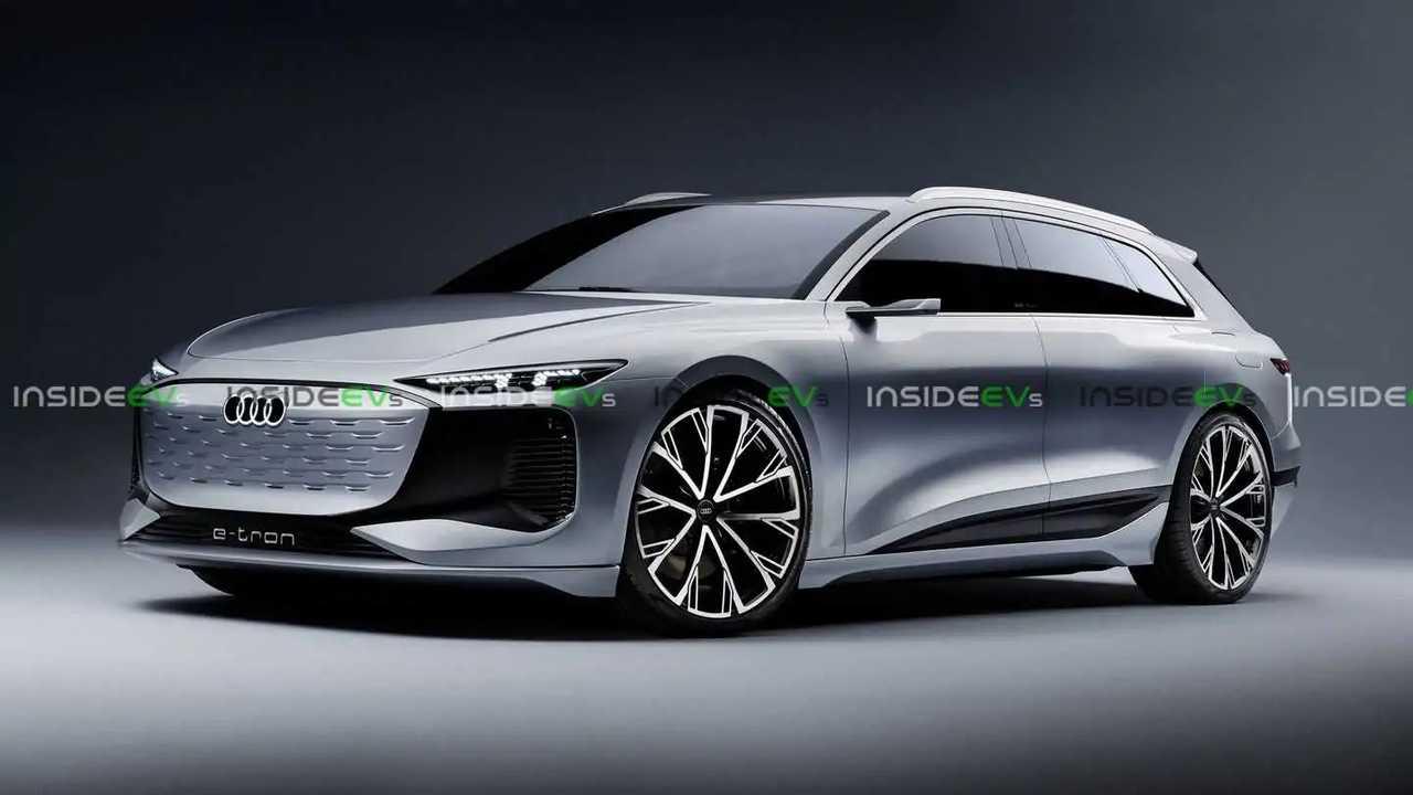 Dieses Rendering zeigt, wie großartig ein Audi A6 Avant E-Tron aussehen könnte