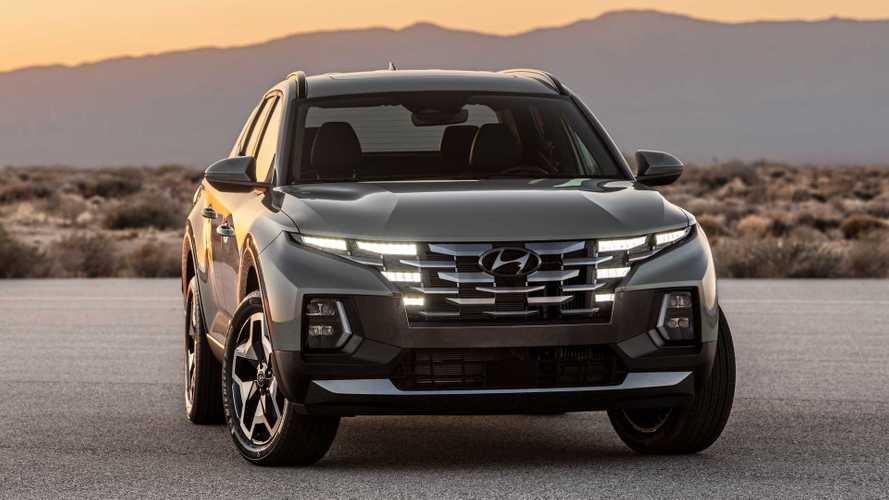 2022 Hyundai Santa Cruz Fuel Economy Shows Up To 27 MPG Highway