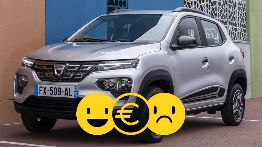 Promozione Dacia Spring, perché conviene e perché no