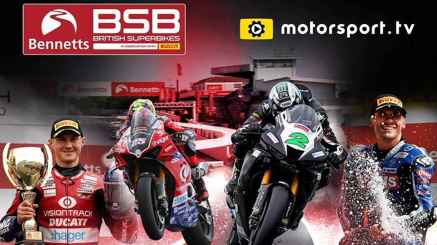 Bennetts Britanya Superbike Şampiyonası Motorsport.tv'de!