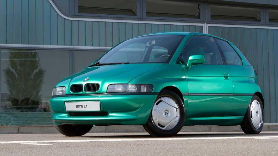 Concept oublié - BMW E1 électrique (1991)