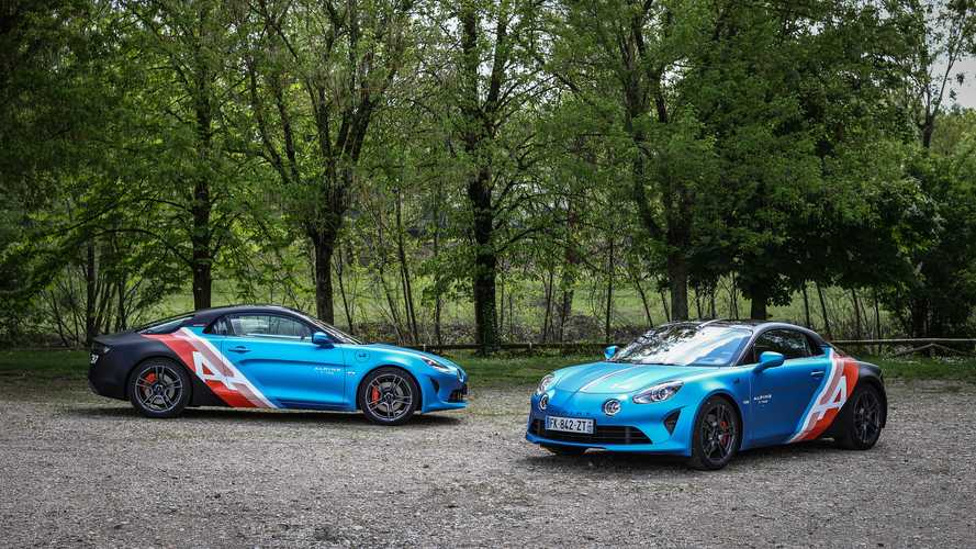 Alpine A110 trackside cars debut as brilliant daily commuters for F1 drivers