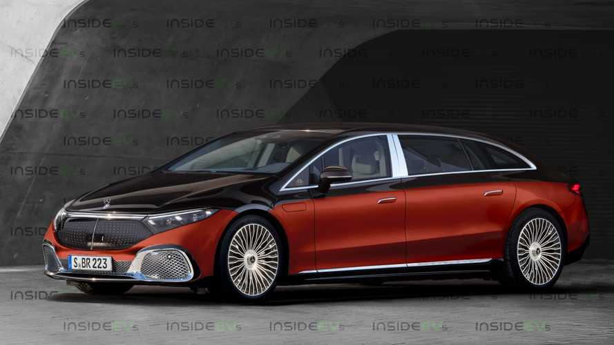 Mercedes EQS Maybach Would Be The Pinnacle Of Electric Luxury
