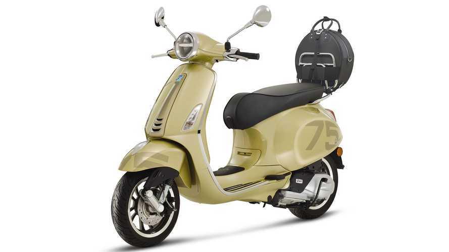 Motosiklet ve moda ikonu Vespa 75 yaşında