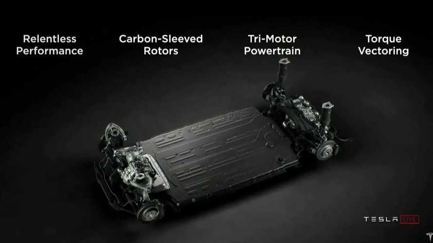 Tutti i segreti dei motori e della batteria della Tesla Model S Plaid