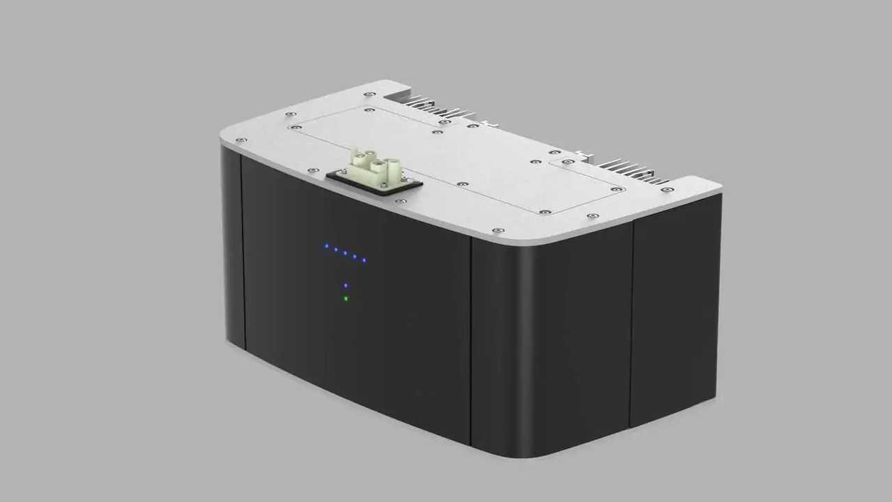 Solarwatt bateria flex base Perspectiva direita superior