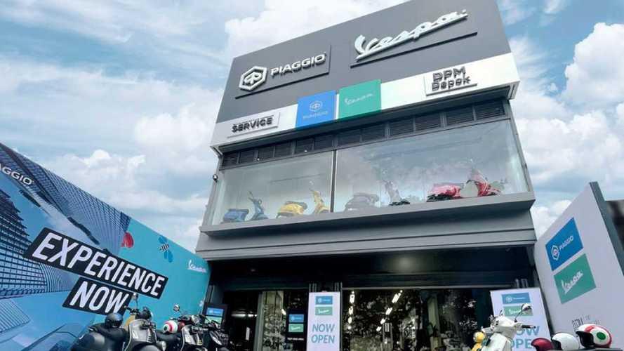 Piaggio Ekspansi dengan Buka Dealer ke-42 di Depok