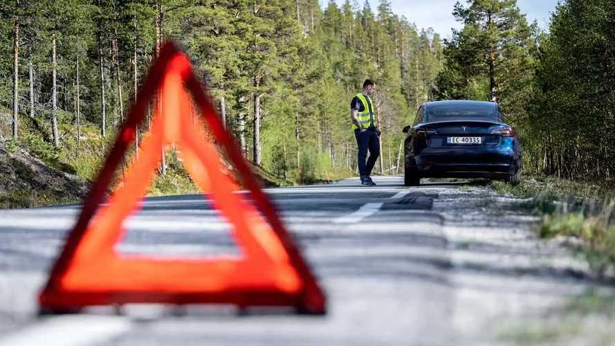 Test d'autonomie géant en Norvège - 21 voitures jusqu'à la panne