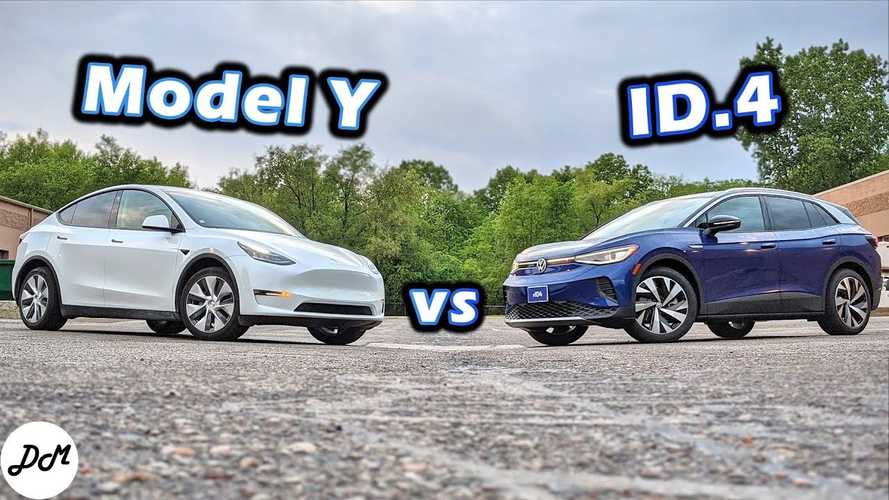 Considering A Tesla Model Y? How Does It Compare To The VW ID.4