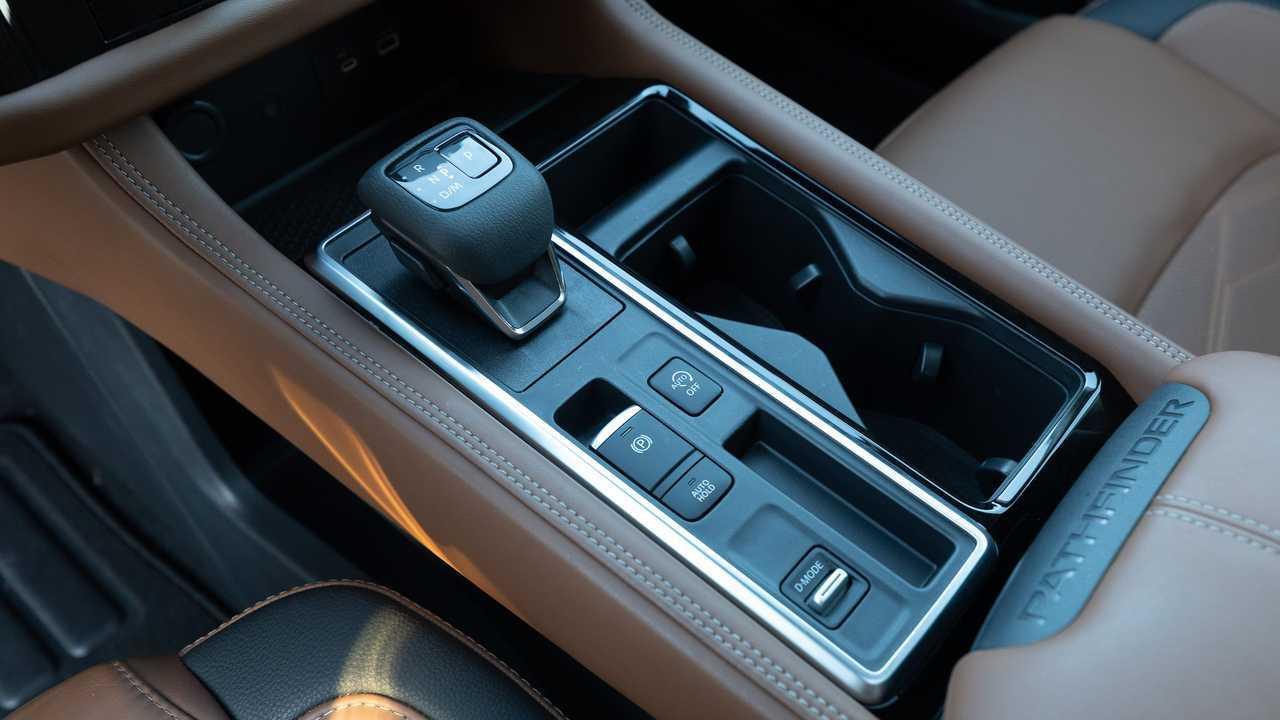 Панель переключения передач Nissan Pathfinder Platinum 2022 года