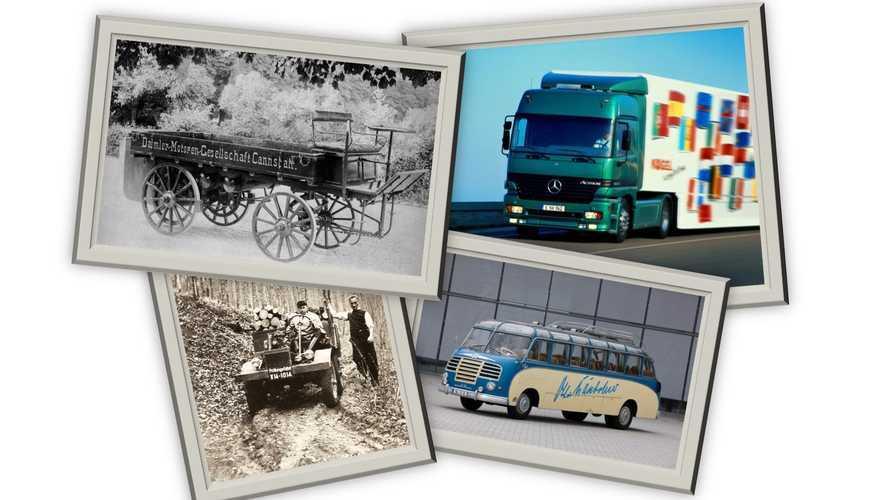 Daimler Trucks and Buses, tutti gli anniversari del 2021