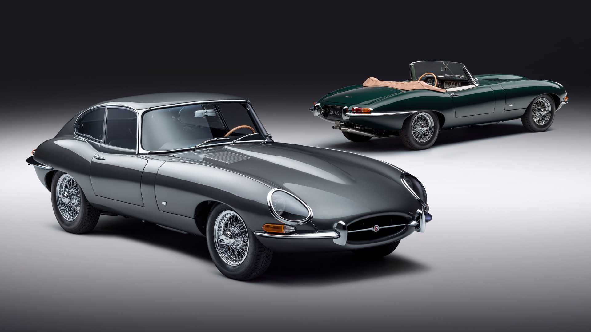 Jaguar E-Type 60 Collection Marks Six Decades Of The Iconic Sports Car