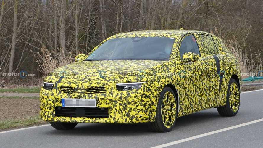 Spy Shots Opel Astra 2022