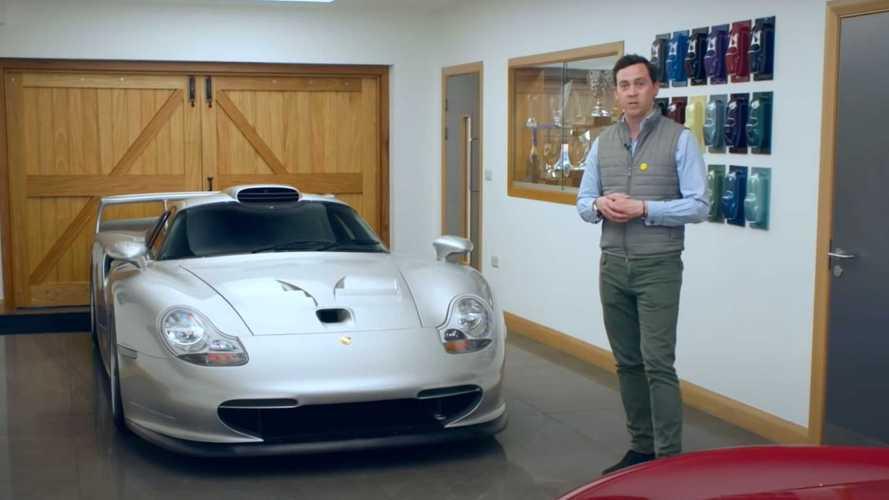 Porsche GT1'in harika detayları bu videoda gösteriliyor
