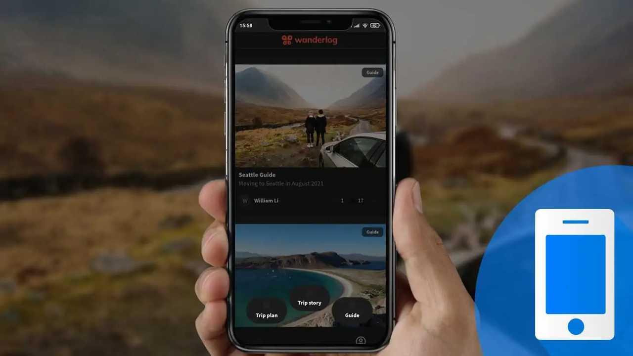Come pianificare un viaggio in auto con l'app Wanderlog