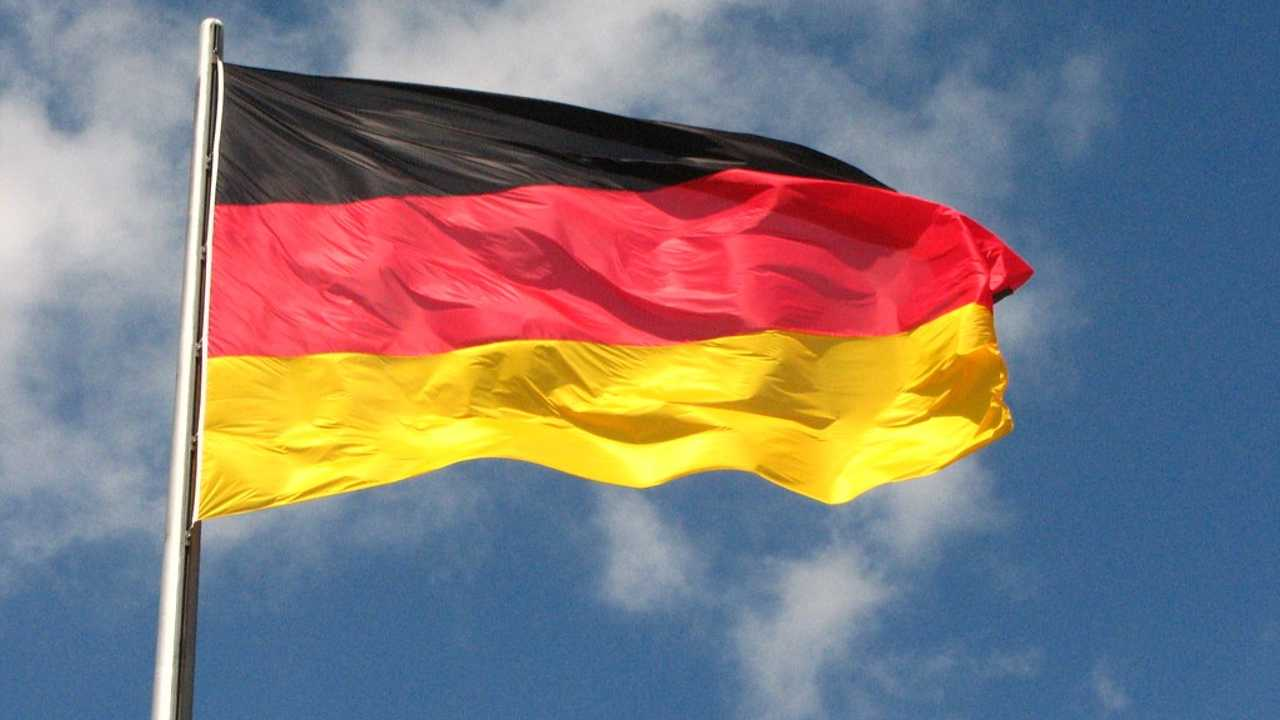 La bandiera della Germania