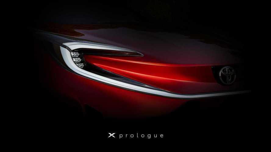Toyota X Prologue'dan yeni bir ipucu görüntüsü geldi