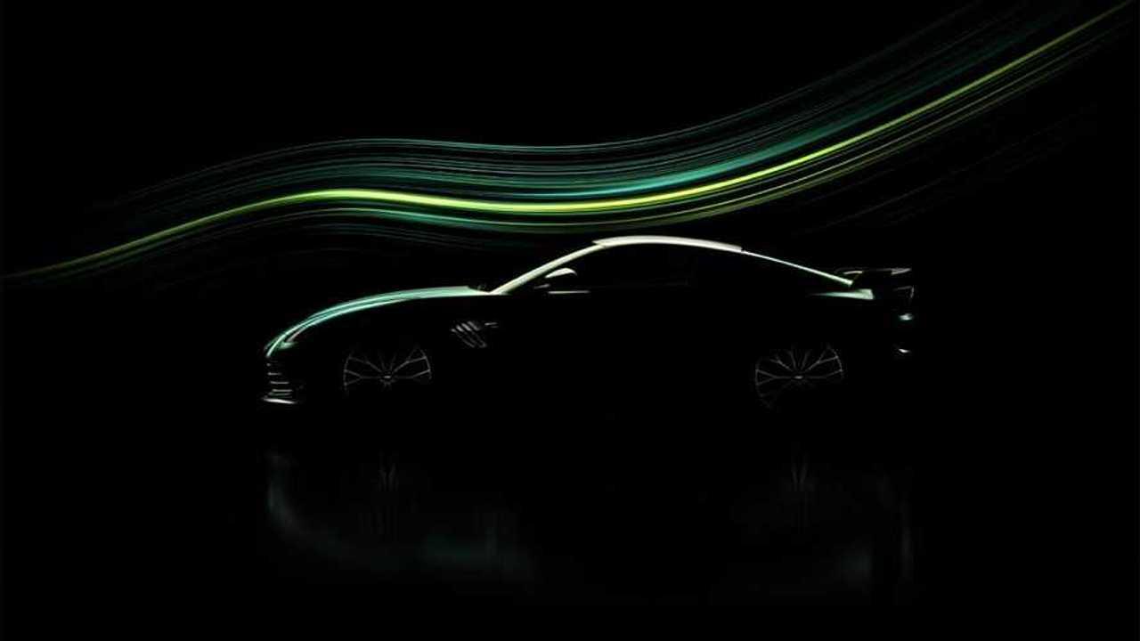 Teaser Aston Martin Vantage
