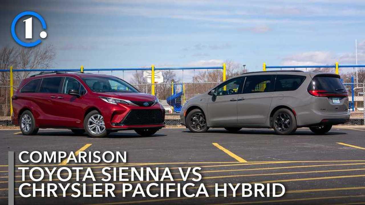 Toyota Sienna Vs Chrysler Pacifica Hybrid Lead
