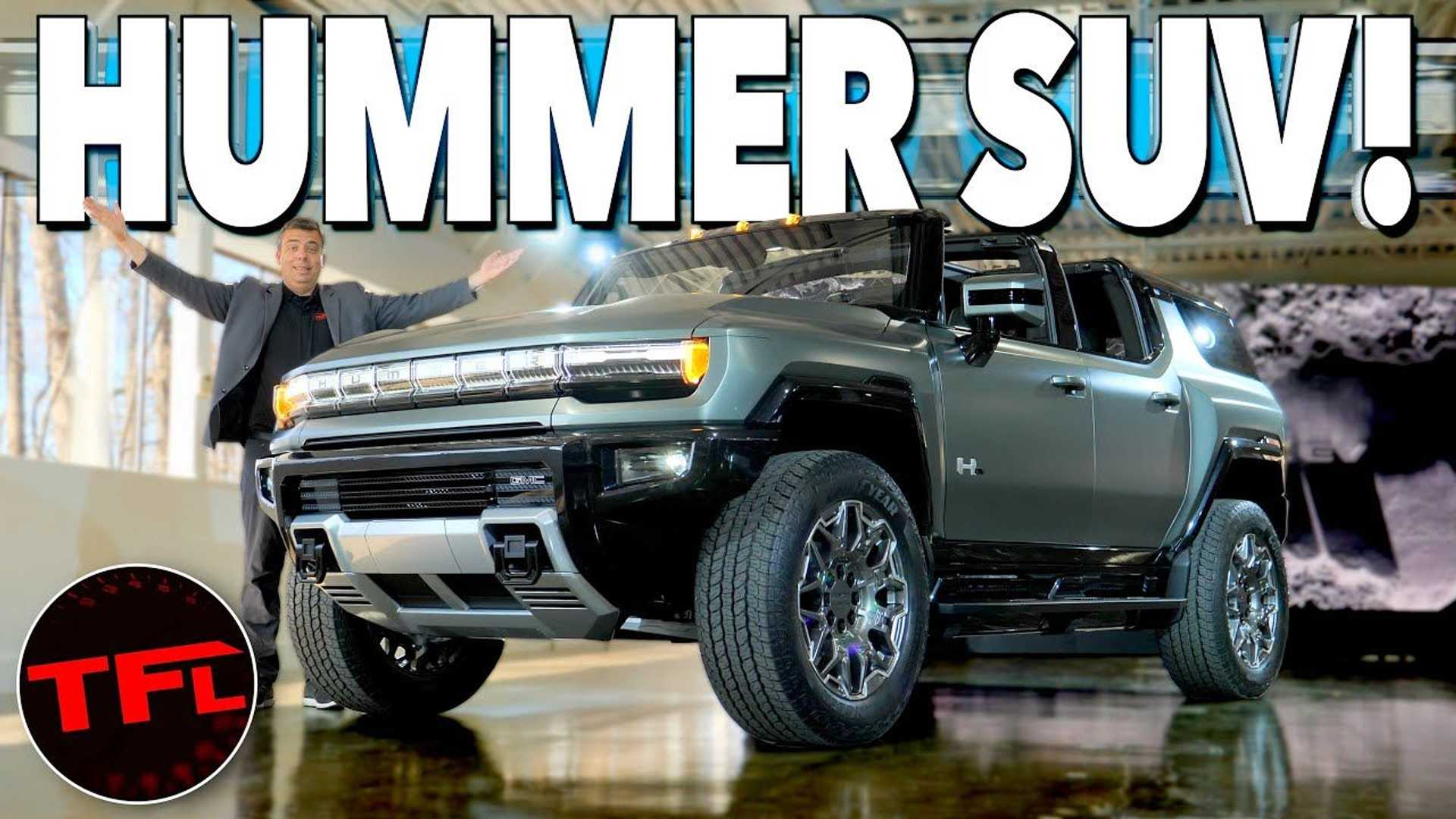 Watch A Walkaround Of The GMC Hummer EV SUV And Its Ultium Platform  image