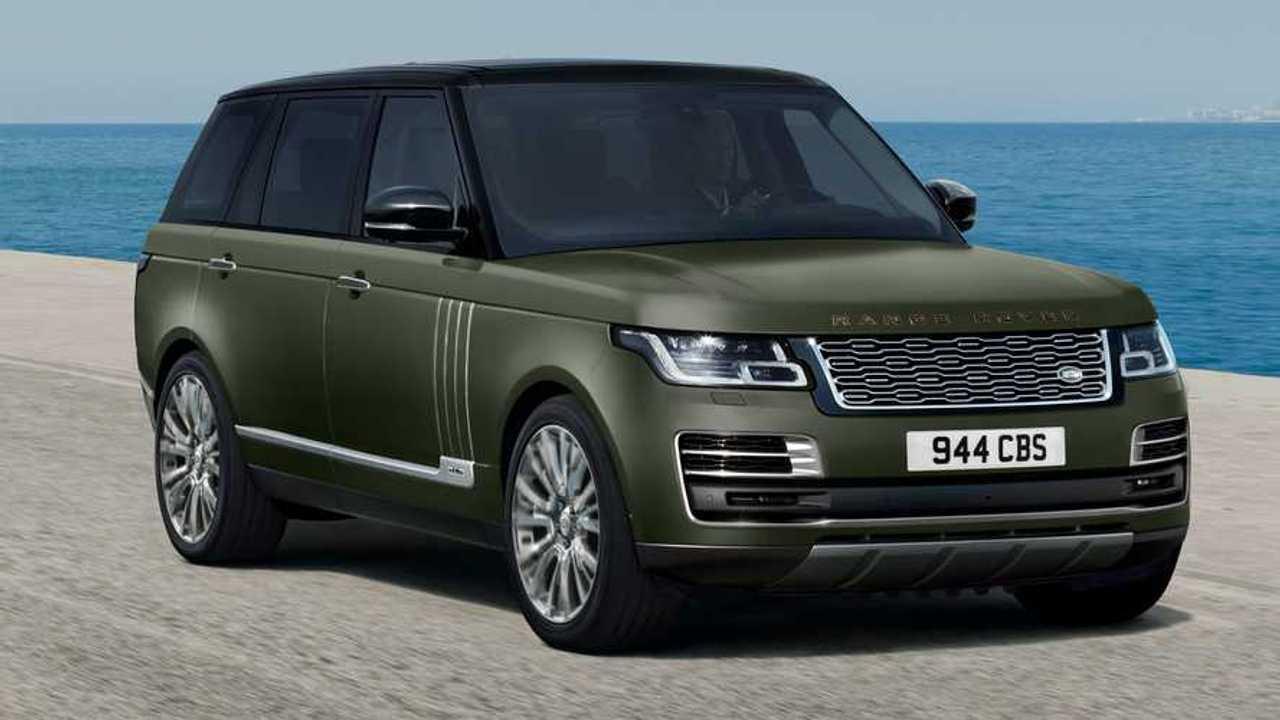 2021 Land Rover Range Rover SVAutobiography Ultimate Anteriore Angolo