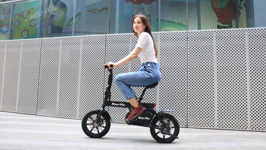 The MoovWay Is A Utilitarian Folding Electric Moped