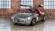 Dieser bizarre 300-SL-Nachbau ist ein Mercedes SLK 32 AMG