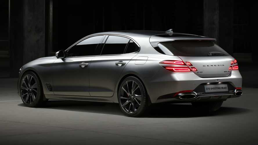 Genesis G70 Shooting Brake debuts to beautify Euro estate segment