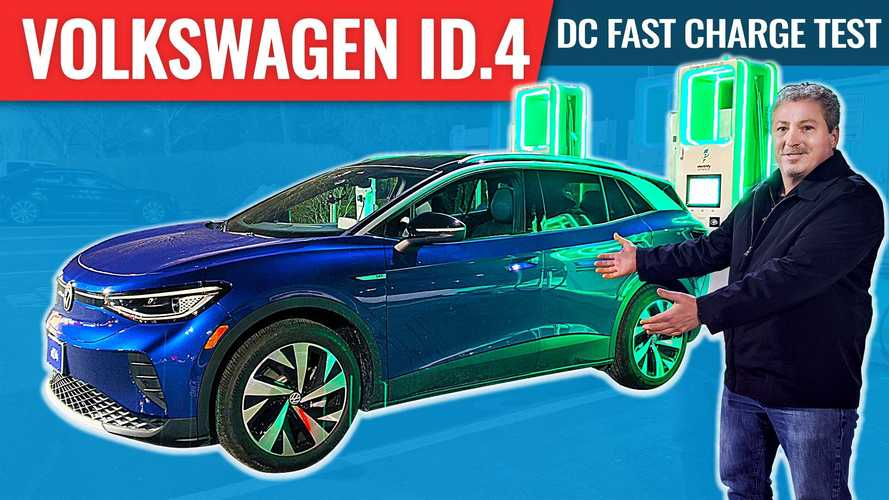How Fast Does The Volkswagen ID.4 Charge? Our DC Fast Charge Test Finds Out