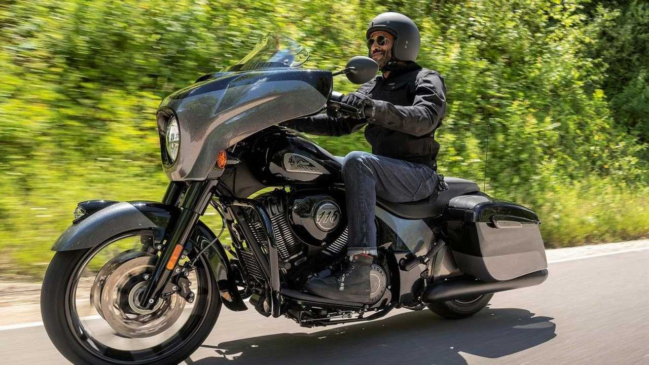 2021 Indian Chieftain Elite - Rolling