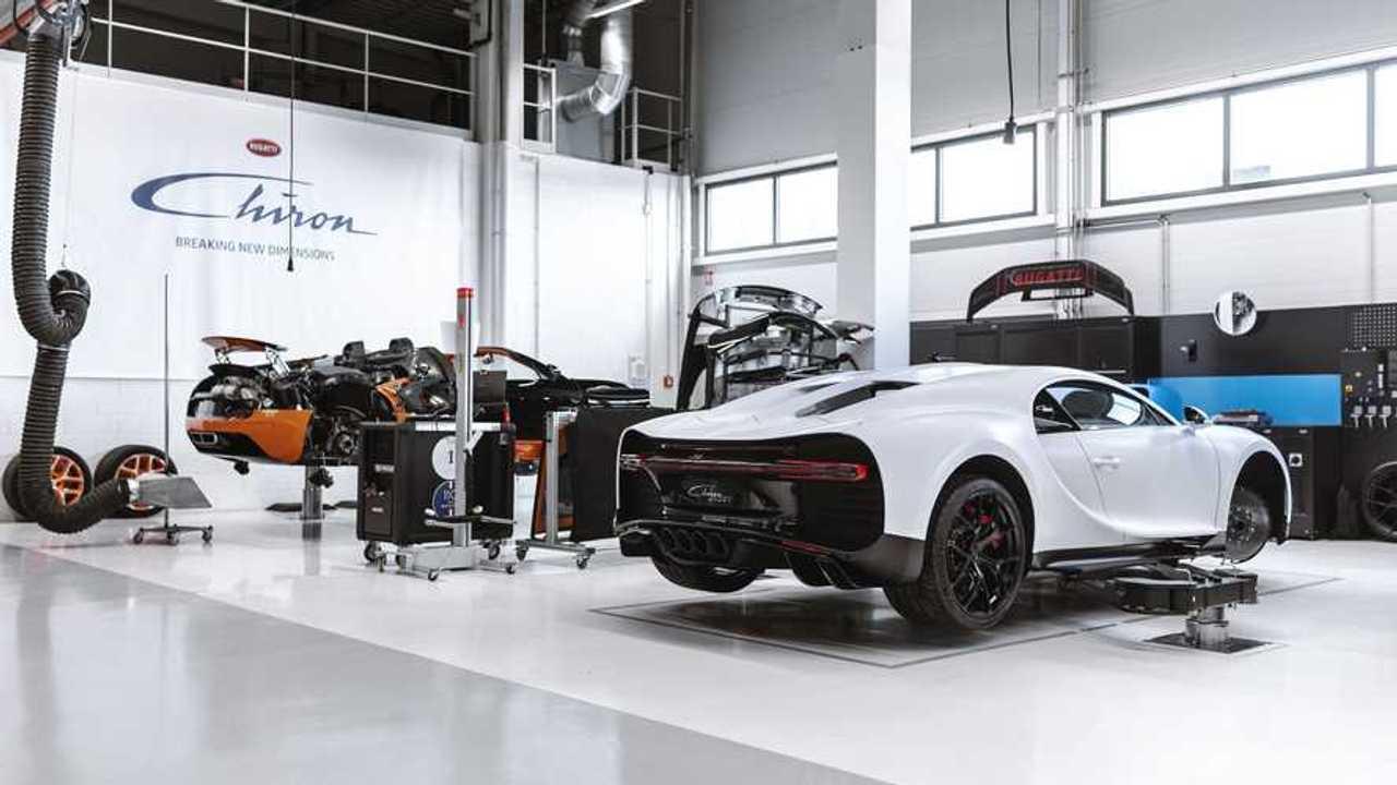 Servicio posventa 'Pasaporte de Tranquilidad' de Bugatti