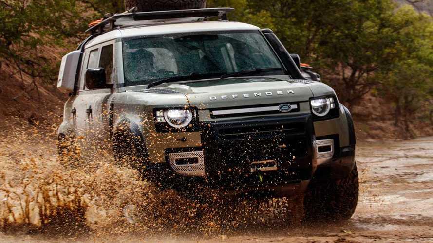 Daha güçlü bir Land Rover Defender geliyor olabilir