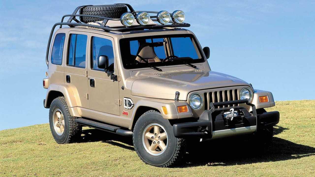 Концепт Jeep Dakar 1997 года