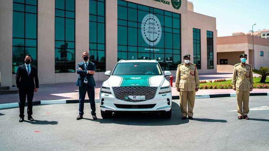 Genesis GV80 для полиции Дубая