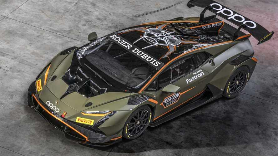 Lamborghini Huracán Super Trofeo EVO2 mit gewaltigem Flügel