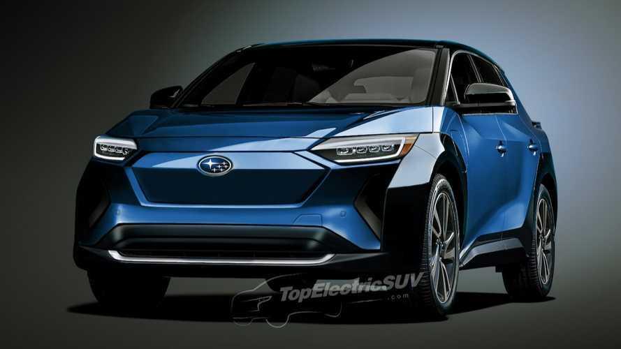 Rendering Subaru Solterra EV yang Spekulatif Ini Berbau Toyota