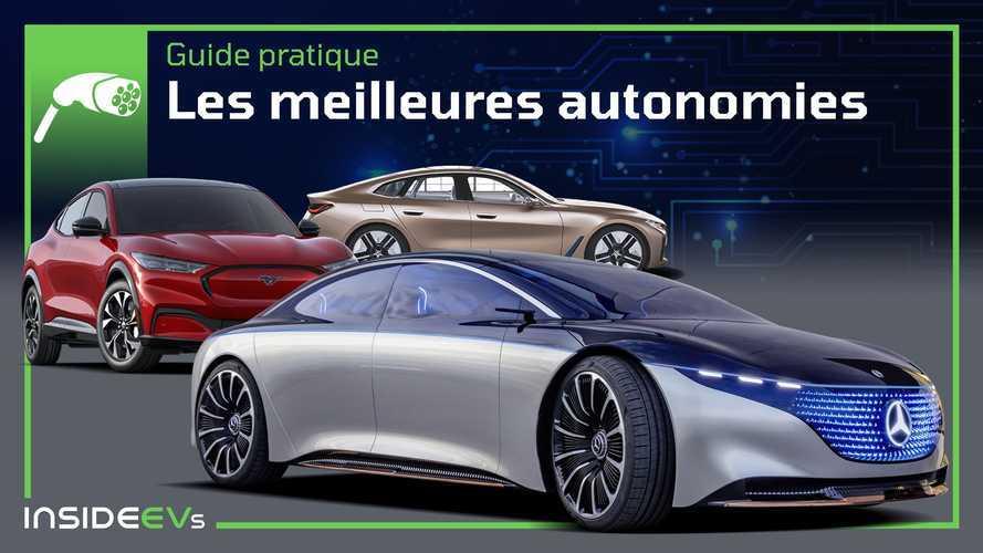 Voici les voitures électriques ayant la plus grande autonomie