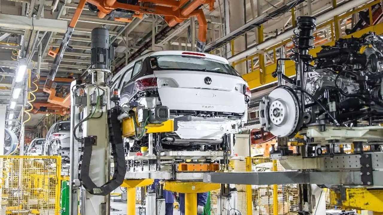В России запустили сборку кроссовера Volkswagen Taos