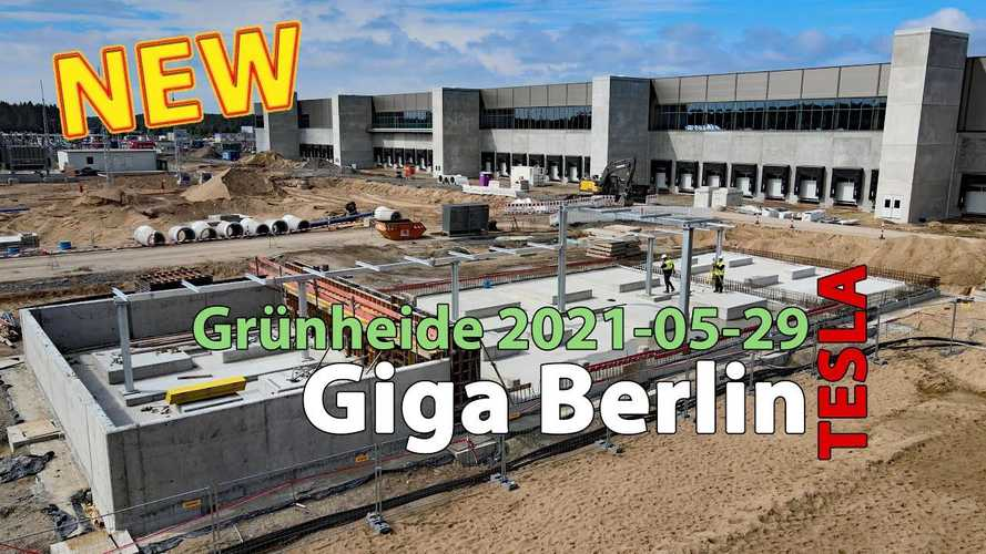 See Tesla Giga Berlin After A Year Of Construction Works