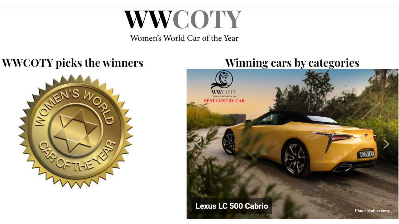 Women's World Car of the Year, ecco chi ha vinto nelle varie categorie