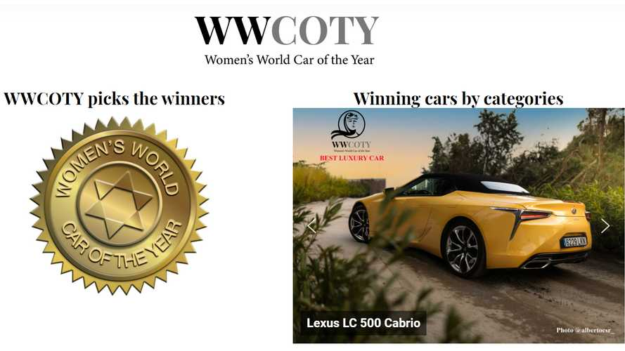 Women's World Car of the Year 2020, le auto che hanno vinto per categoria
