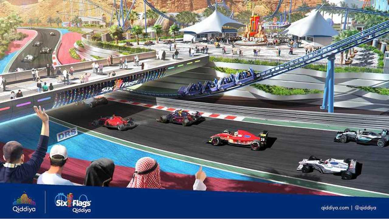 Presentation of the Qiddiya Grand Prix