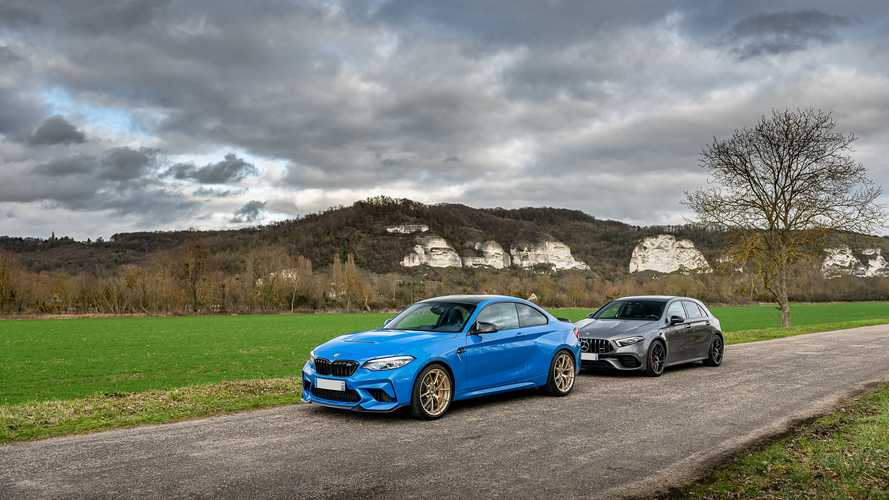 Essai comparatif - BMW M2 CS vs Mercedes-AMG A 45 S