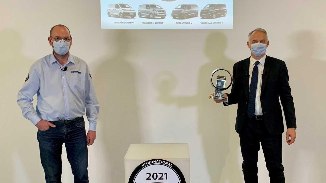 International Van of the Year 2021 (IVOTY): Peugeot e-Expert, Citroën ë-Dispatch, Opel Vivaro-e and Vauxhall Vivaro-e