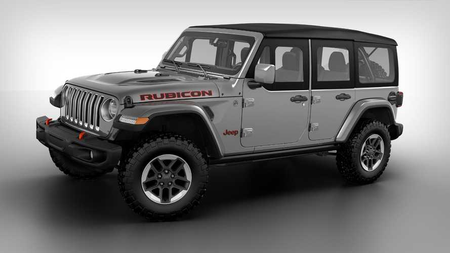 Jeep Wrangler с пакетом Dual-Door Group