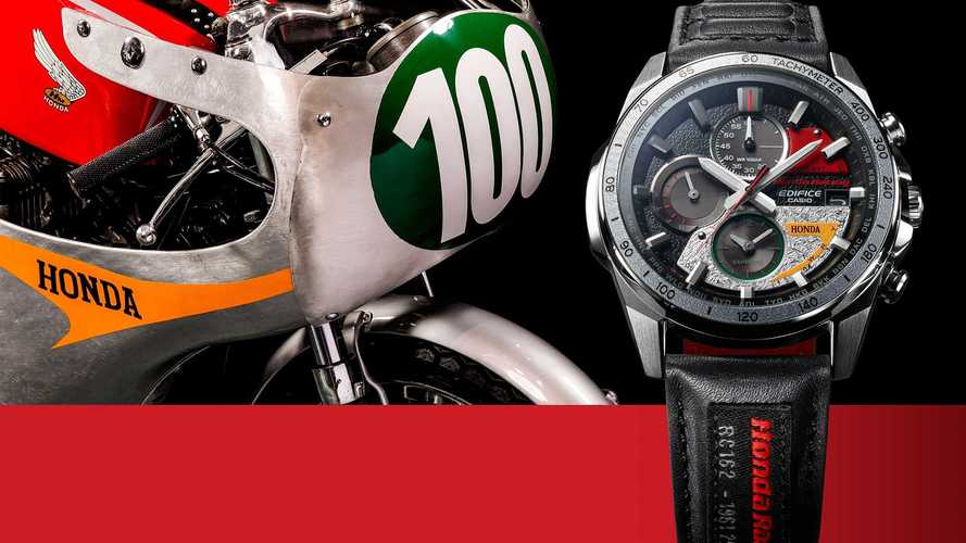 Honda x Casio Watch Honors 60th Anniversary Of First Race Win